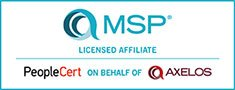 Axelos MSP Affiliate Training Course Provider no pad
